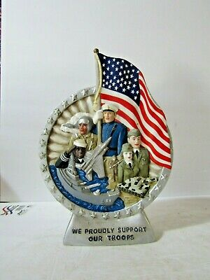 Jim Beam IAJBBSC We Proudly Support Our Troops Sample Decanter