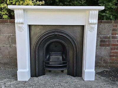 Victorian Style Arched Cast Iron Fireplace By Acqusitions Of London