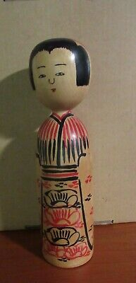Vintage Big Kokeshi Japanese Wooden Doll