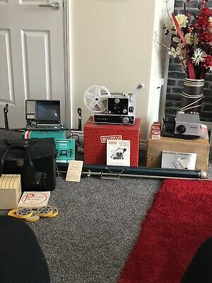 Vintage Projectors And Screen