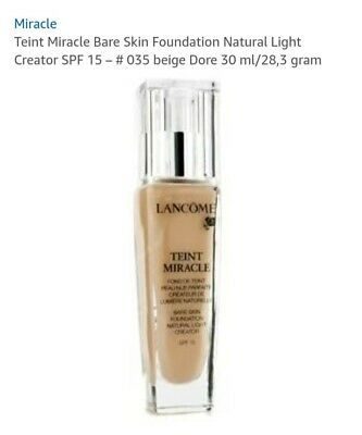 Lancome Teint Miracle. 035 Beige Dore