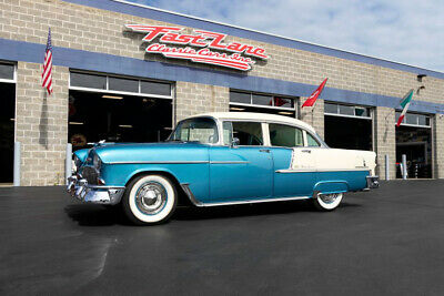 1955 Chevrolet Bel Air/150/210 Frame Off Restoration 1955 Chevrolet Bel Air Nut and Bolt Restoration 4 Wheel Disc Brake Air Condition