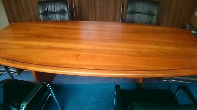 American Walnut Boardroom Table - Conference Meeting Table - Tables