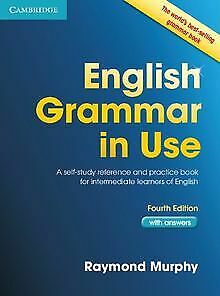 English Grammar in Use with Answers: A Self-Stu... | Book | condition acceptable