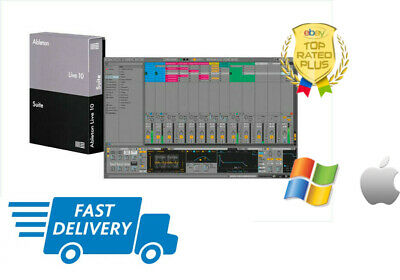 🎼 Ableton Live Suite 10 📥 Instant eDelivery🔑Win/MAC ⚡️ Activation ⚡️ Lifetime
