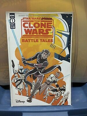Star Wars Adventures,The Clone Wars Battle Tales #1 (2020) Regular Cover