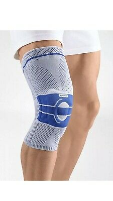 Bauerfeind GenuTrain Omega Pad Active Knee Support Natural, Size 1 Comfort Fit