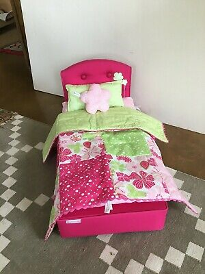 American Girl BLOOM BED and BEDDING New In BOX RETIRED!