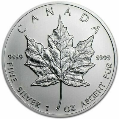 2013 Canada $5 Silver Maple Leaf Coin .9999