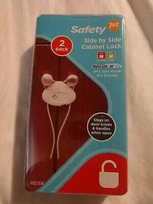 Safety 1st Side by Side Cabinet Lock (2 Pack)