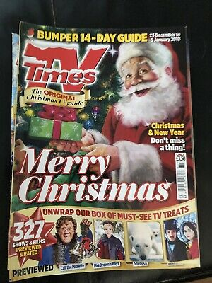 Tv Times Christmas /  Issue 2018