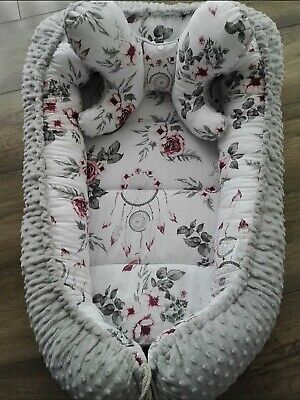 Baby Nest & butterfly pillow Newborn Sleepyhead High-Quality fits to Next2Me cot