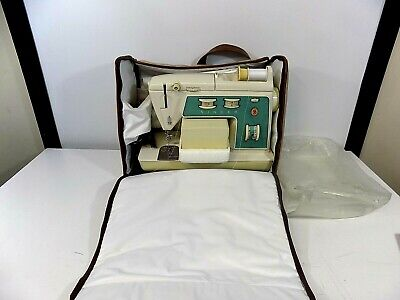 Vtg Singer Touch & Sew Model 775 Sewing Machine Good Working Condition