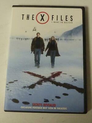 The X-Files: I Want to Believe (DVD, 2009, Extended Cut Unrated Widescreen)
