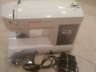 SINGER Brilliance 6199 Computerized Sewing Machine Pedal. Working, in good cond.