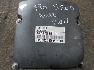 bmw f10-f11 520d abs pump p.no 6799515 from 2012