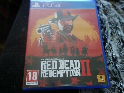 Red Dead Redemption II PS4 game