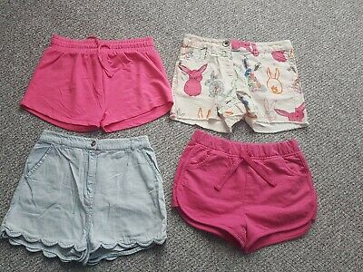 Girls Next Tu Matalan Summer Shorts Bundle Age 9 Years