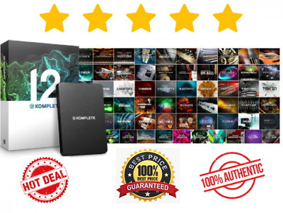 Native Instruments Komplete 12 🔥 Ultimate ✅ Instant Delivery [MAC-WIN] 🔥 1oo%