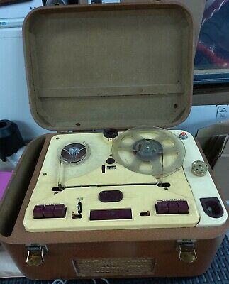 VINTAGE SOUND A20 ELECTRONIC N17 TAPE RECORDER  - 1950s