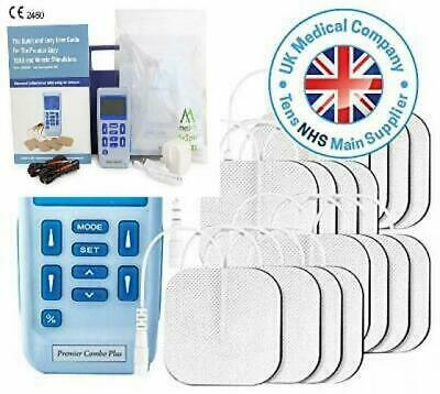 Premier TENS Machine by Med-Fit, Fully Rechargeable Dual Channel Tens and...
