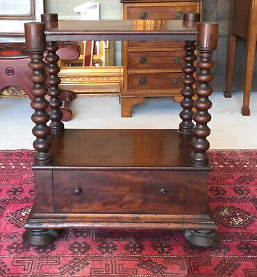 Victorian Mahogany Wotnot In Need Of Restoration