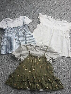 Girls Next Summer Tops Bundle Age 5-6 Years