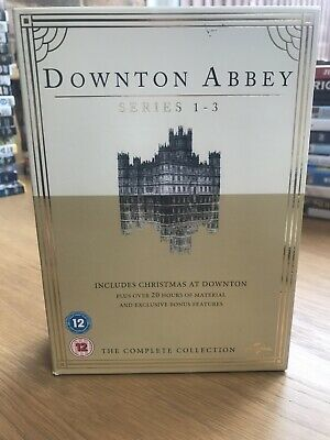 Downton Abbey Series 1-3 The Complete Collection Box Set
