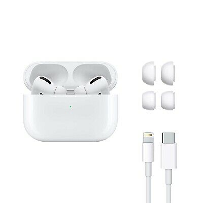 Pro Airpods Apple White Case Wireless New Charging Mwp22am Genuine Free Shipping
