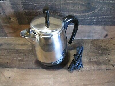 Farberware superfast fully automatic coffee pot percolator 2-4 cups works
