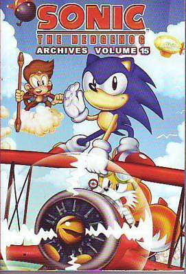 Sonic The Hedgehog Archives volume 15 comic