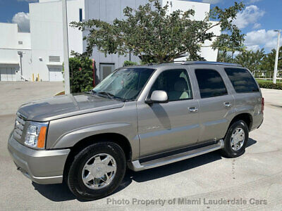 2003 Cadillac Escalade AWD One Owner Low Miles Clean Carfax Fully Loaded Garage Kept Dealer Serviced 4X4