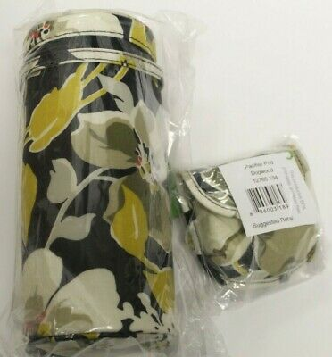 NWT Vera Bradley Dogwood Pacifier Pod & Bottle Caddy
