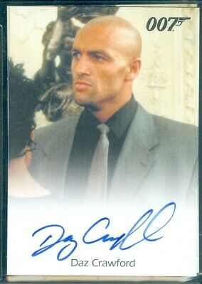 James Bond Archives 2017  Daz Crawford as Henchman Autograph Card