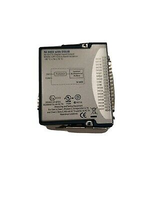 National Instruments  NI-9403 (C Series Digital Module) with Cable