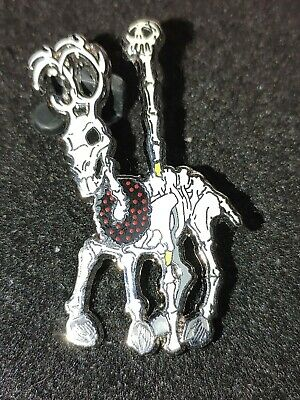 Disney Pin Disneyland Nbc Haunted Mansion Holiday Creepy Carousel Nightmare Deer