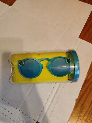 Snap Inc. Spectacles Snapchat Camera Sunglasses - Teal -Brand New! FREE SHIPPING