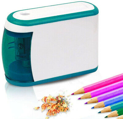 Electric Battery Operated Pencil Sharpener Desk School/Office Portable Classroom
