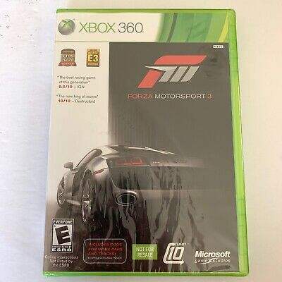 Forza Motorsport 3 (Microsoft Xbox 360, 2009) New And Sealed
