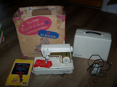 Vintage Singer Little Touch & Sew Toy Electric Sewing Machine