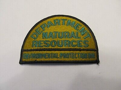 Georgia State Conservation Environmental Protection Warden Patch Obsolete