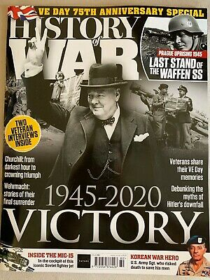HISTORY OF WAR MAG 2020 # 080 = VE Day 75th Anniversary  - 1945-2020 Victory