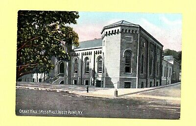 US Military Academy Grant Hall (Mess Hall) West Point New York 1910's Postcard