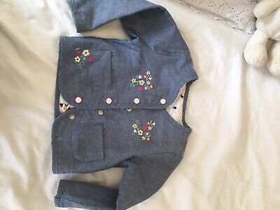 Girls Summer Reversable Little Jacket Age 2-3