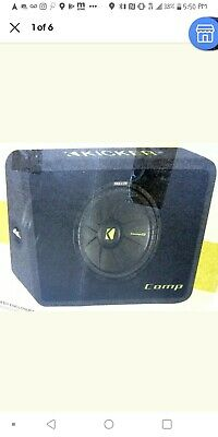 10' Kicker Subwoofer Competition Box