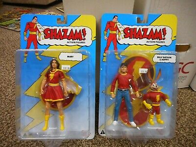 DC Direct Shazam lot Billy Baton and Happy + Mary Marvel red figure set lot MINT