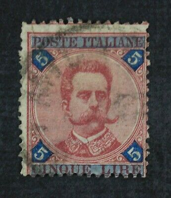 CKStamps: Italian Stamps Collection Scott#72 Used Signed