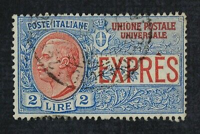 CKStamps: Italian Stamps Collection Scott#E7 Used