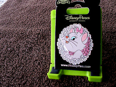 Disney * MARIE - JEWELED * New on Card Aristocats Character Trading Pin