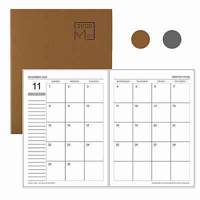 Office Supplies Monthly Calendar Index Stickers Marker Note For ...